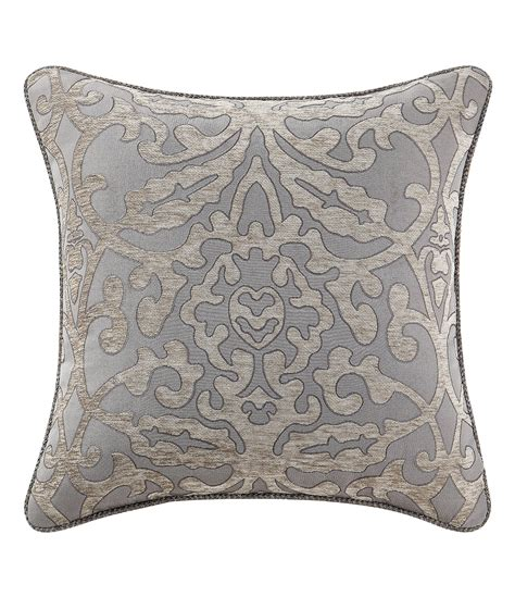 waterford pearl pillow ornament waterford carrick damask medallion pillow dillards