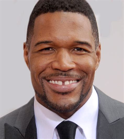 why is michael straham have a mohawk michael strahan mohawk hairstylegalleries com
