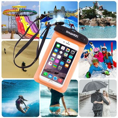 Zoe Lg Kf350 Waterproof Bag sunsky haweel transparent universal waterproof bag with