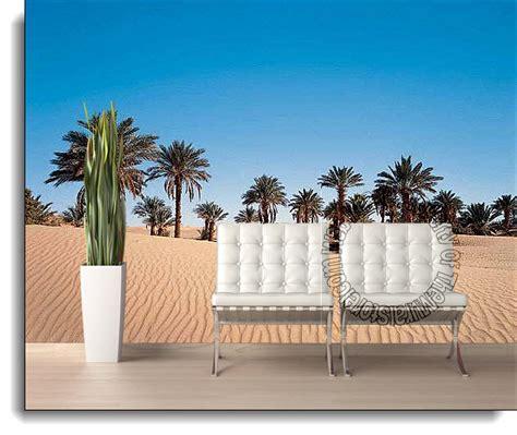 desert wall murals desert palm wall mural ds8068