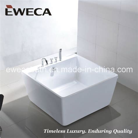 piccola vasca da bagno piccola vasca da bagno quadrata ew6806 piccola vasca