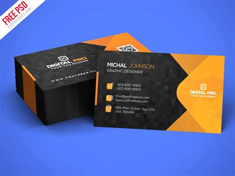 business card template psd 2017 modern corporate business card template psd psdfreebies