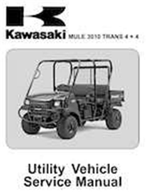 Kawasaki Mule Type Kaf620e Owners Manual Pdf Repair Manual