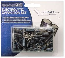 capacitor kit farnell 120 10 value electrolytic capacitor kit velleman sa cpc