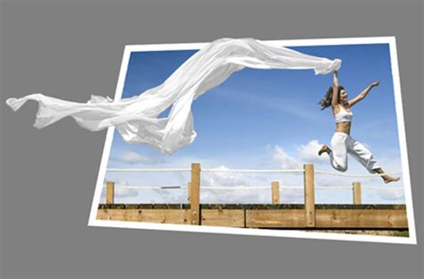 tutorial photoshop frame captivating and amazing out of bounds photo effects