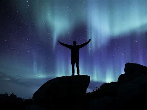 northern lights landscape aurora  image  pixabay