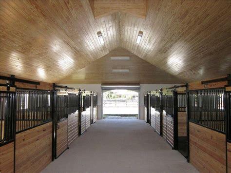 center aisle horse stable ventura construction development horse barn