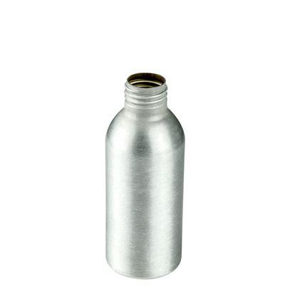 Tutup Prestop Aluminium Neck 24 4 oz brushed aluminum bottle with 24 410 neck cap sold separately u s plastic corp