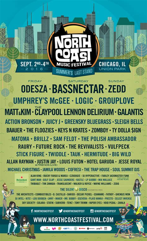 Coast 2016 Lineup Released