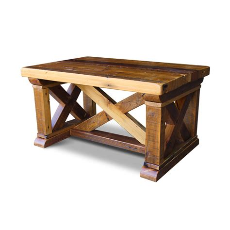 vintage x barnwood coffee table