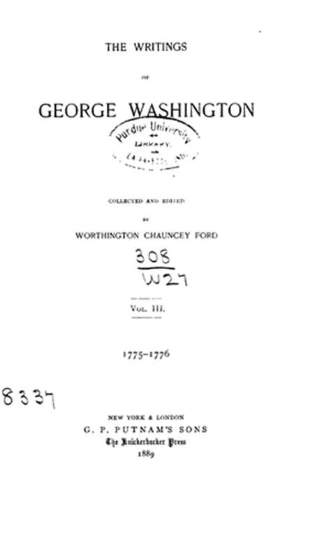 George Washington Mba Questions by George Washington Essay Questions