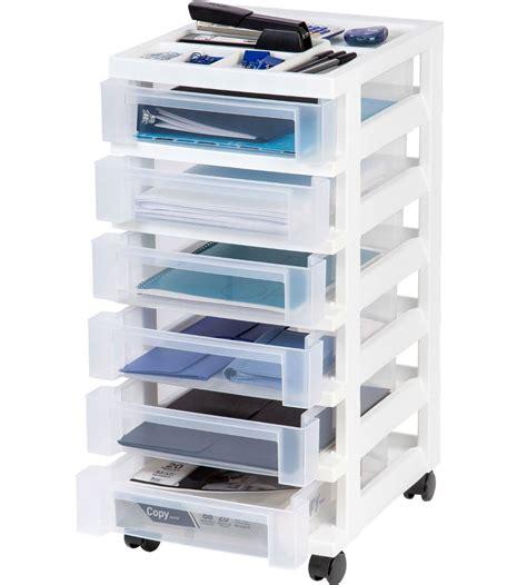 6 drawer plastic storage chest six drawer office storage chest white in storage drawers