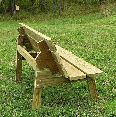 park bench table plans flip top bench table plans are you choosing between a