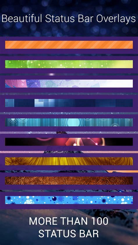 themes color status bar app shopper color status bar plus custom top bar