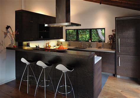 kitchen with bar design stylish kitchen bar designs interiorholic com