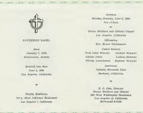 Catholic Funeral Mass Order Of Service Template by Catholic Funeral Program
