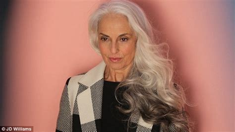 makeup for 60 year old with grey hair yazemeenah rossi proves fashion has no age limit in jd