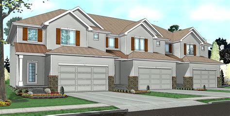 easy to build house plans easy to build 3 unit house plan 62523dj architectural