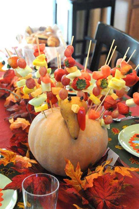 inspiring kids thanksgiving table ideas