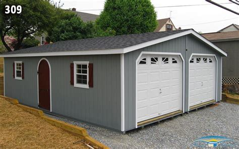 Two Car Garage With Carport by 2 Car Garage Plans Modular Garages Horizon Structures