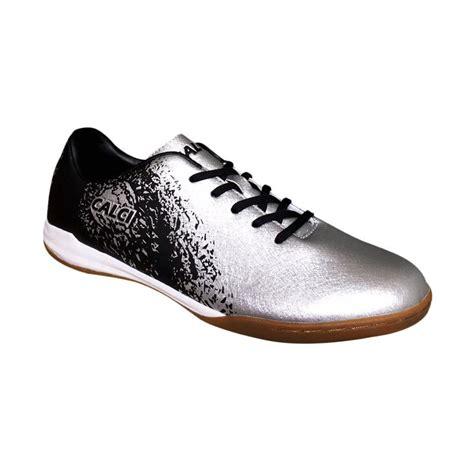 Sepatu Futsal Calci Empire jual calci empire sepatu futsal silver black