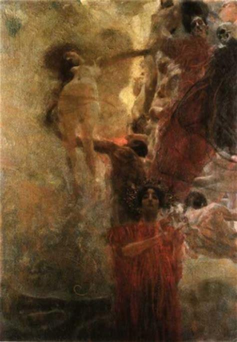 klimt of vienna ceiling paintings gustav klimt painting early works medizin