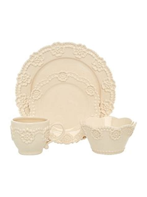 shabby chic shabby chic lace dinnerware house of fraser