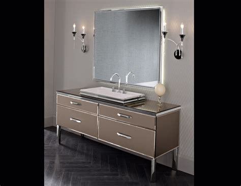Hton Bathroom Vanity by Milldue 23 Black Lacquered Glass Luxury Italian