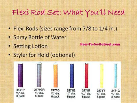 whst size of perm rollers do i need for loose perm 32 best images about flexi rods for natural hair and perms