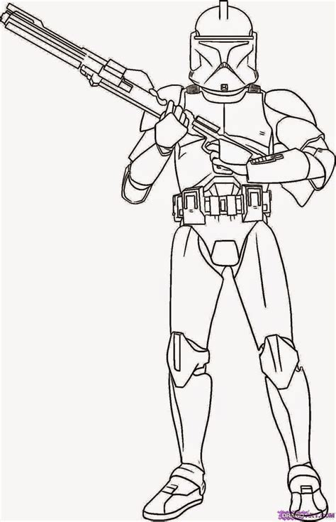 star wars commander cody coloring pages