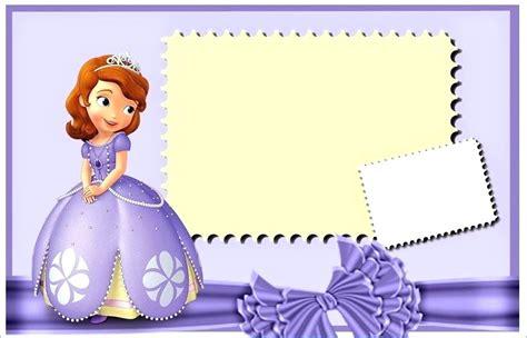 Princess Birthday Invitations Sofia The First Invitation Card Template Free Macoline Pro Sofia The Birthday Card Template