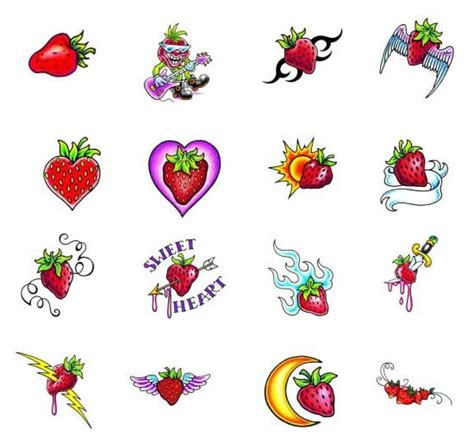 strawberry tattoo designs 1000 ideas about strawberry on sparkle