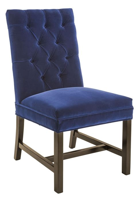 Navy Chair by Orwalk Giotto Navy Fabric Dining Chair 100741 Sunpan