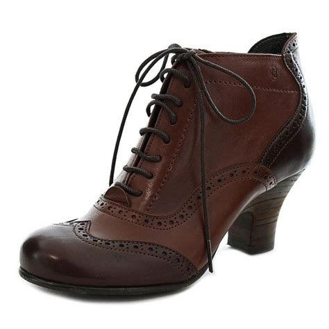 womens leather ankle boots fidji v275 leather brown ankle boot boots