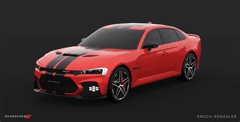2019 Dodge Charger Srt8 Hellcat by Here S A Take On The Facelifted 2019 Dodge Charger Srt