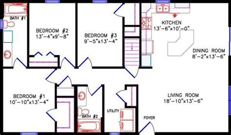 30x40 house plan start main floor houses cottage