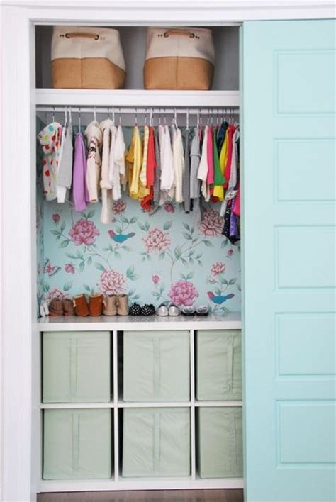 wallpaper closet decorate your home with wallpaper 20 ideas interior
