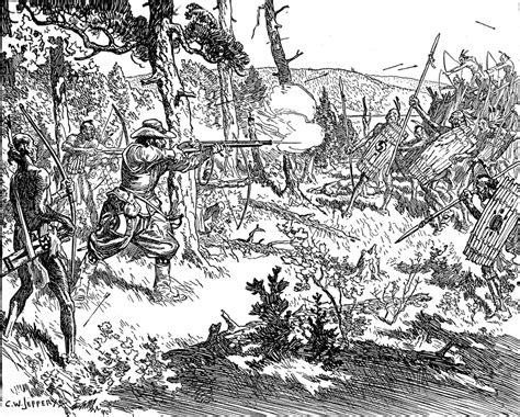 Iroquois Also Search For Chlain S Fight With The Iroquois 1609