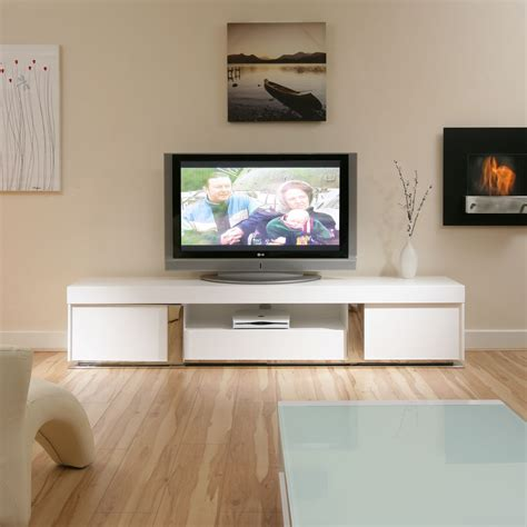 White Tv Cabinets by Large Tv Television Cabinet Entertainment Unit Center