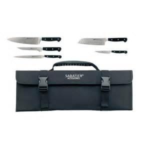 pluton sabatier mallette 5 couteaux professionnels