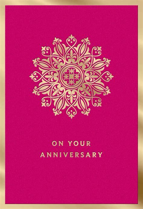 years  happiness anniversary card greeting