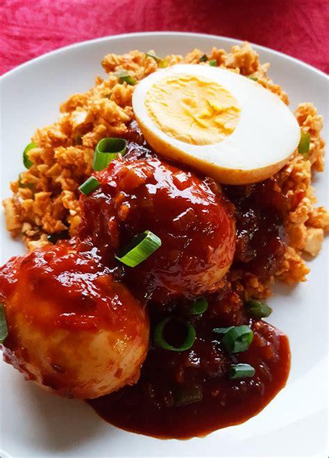 telor kecap eieren  ketjapsaus gewoon een foodblog