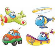 Free EPS  Different Cartoon Transportation Tool Vector 01 Download