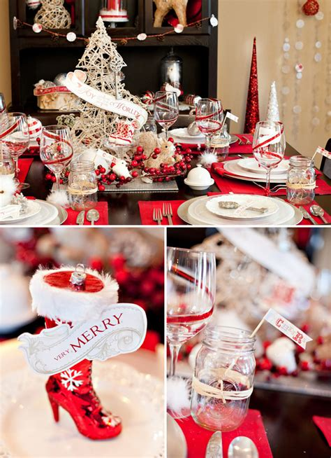 party themes holiday new vintage glam holiday theme free party printables