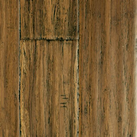 Distressed Honey Bamboo Flooring - 1 2 quot x 5 quot distressed honey strand click morning xd