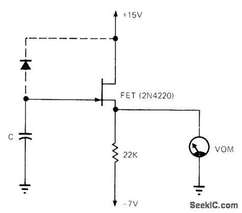 dioda fet diode and fet leakage basic circuit circuit diagram seekic