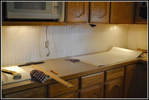 wallpaper backsplash kitchen beadboard wallpaper backsplash ideas for the home