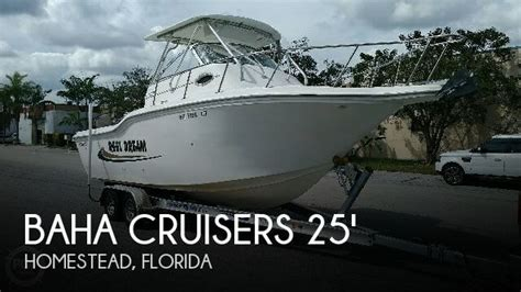 boats for sale homestead florida for sale used 2001 baha cruisers 25 in homestead florida