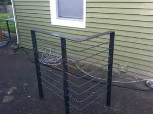 Galvanized Handrail Weld And Glue Furniture Design