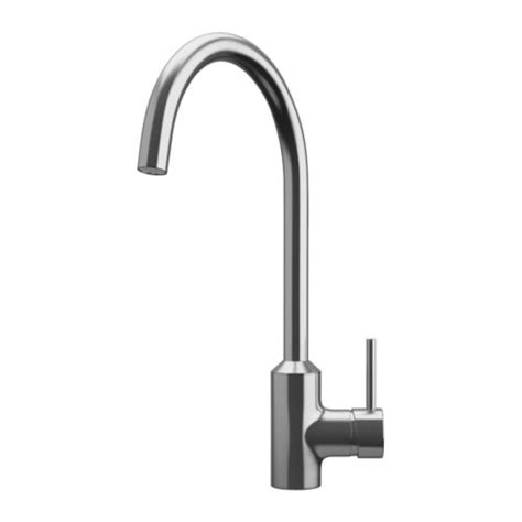 single lever kitchen faucets ringsk 196 r single lever kitchen faucet ikea